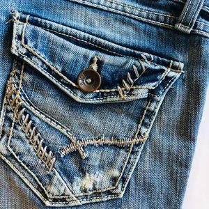 BKE Stella bootcut jeans light wash